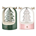Rotating Christmas Tree Earring Holder Oraganizer Necklace Display Stand