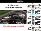 Indian skull vinyl decal tank 8 pc set 5 colors - for Chief Scout Motorcycles
