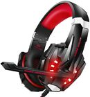 BENGOO G9000 Stereo Gaming Headset for PS4 PC Xbox One PS5 Controller, Noise