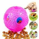 UK_ Pet Cat Dog Chew Teether Food Leakage Dispense Ball Interactive Toy DEL