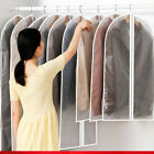 Hanging Garment Bag Suit Bags 5 Pack Clear Full Zipper Suit Bags PEVA Moth-Proof