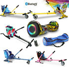 'Official Bluetooth 6.5 Combo Electric Scooter Self Balance Hover Board Go Kart