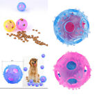 Interactive Dog IQ Treat Food Dispensing Toys Durable Chewing Ball