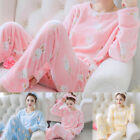 Pyjama Pajamas Sleepwear Pyjamas Homewear Winter Ladies Womens Nightgown