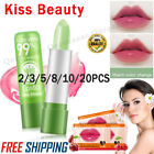 Aloe Vera Lipstick Lip Balm Color Mood Changing Long Lasting Moisturizing US
