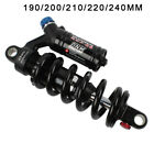 DNM MTB Mountain Bike Spring Preload Adjustable Rear Shock Absorber  Black/red