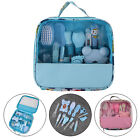 Newborn Baby Kids Nail Clipper Thermometer Grooming Brush Health Care Kit 13Pcs