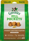 Greenies Pill Pockets Natural Dog Treats Capsule Size Peanut Butter Flavor
