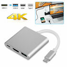 Type C USB 3.1 to 4K HDMI USB 3.0 PD Charging Adapter For Macbook Pro Laptop PC