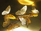12pcs 3d Butterfly Wall Stickers Art Decals Home Room Decorations Décor