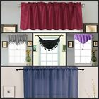 Closet Out 1pc Valance Kitchen Curtain Different Style Color And Size Home Decor