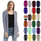 W/pockets Knitwear Soft 1pc Long Knitting Trench Long Sleeve High quality