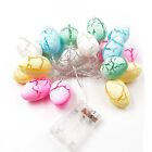 Easter String Lights New Year Decoration Party Easter Eggs-shaped Home Decor