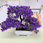 Bonsai Simulation Artificial Plants Flowers In Pots Home Office Fake Tree Decor