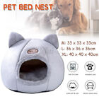 Large Cat Bed Cave Small Wool Cozy Pet Igloo Bed Winter House Nest Kennel NEW