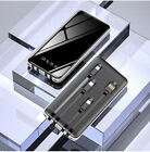 Ultra-thin 900000mAh Power Bank Portable External Battery Charger For Phone