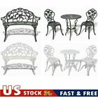 Usa Garden Bistro Table And Chairs Set Cast Aluminium Outdoor Furniture Park