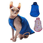 Sphynx Cat Shirt Clothing Hairless Cat Pajamas T-Shirts Pet Clothes Pullover Top