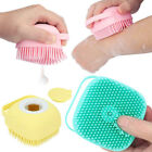 Silicone Bath Body Brush Scrubber Dispenser Bathroom Liquid Soap Soft Massager