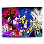 Sonic the Hedgehog 300/500/1000 Piece Wooden Jigsaw Education Puzzle Game Gift