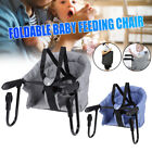Safe Infant Baby High Chair Kid Padded Foldable Lightweight Portable
