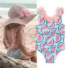 Soft Baby Girl Swimsuit One-piece Swimwear 2-48 Months Bikini Swimming Suit