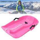 65x40cm Snow Sled Large Kids Adults Sledge Board Flyer Flying Sleigh Gift