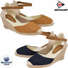 Ladies Wedge Sandals Memory Foam Espadrille Summer Platform Party Strappy Shoes