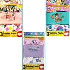 PEPPA PIG, MINNIE MOUSE -or- PRINCESSES Girl's 3T TRAINING PANTS 3-Pack  New
