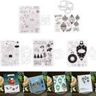 DIY Christmas Seal Stamp with Cutting Dies Stencil Scrapbooking Embossing Photo