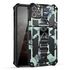 Case For iPhone 11 12 Pro Max 7 8 XR XS Shockproof Magnetic Bumper Stand Cover