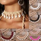 New Beach Fashion Natural Shell Necklace Shell Bracelets Neck Hand Accessories