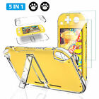 For Nintendo Switch Lite Protective Cover Hard Case Shell+Glass Film Shockproof
