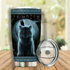 Vikiing Wolf Dark Limited Edition New Item Full Color Tumbler