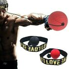 MMA Boxing Reflex Speed Punch Ball With Headband Gym Muay Thai Boxer Accessories