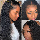 USA Pre Plucked Brazilian Human Hair curly Wigs Glueless Lace Frontal Wigs