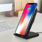 Qi Wireless Fast Charger Charging Stand Dock Cooling Fan For iPhone 12 11 8 Plus