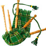More images of Kids Bagpipe Playable Bagpipe with Reed in Irish Heritage Tartan