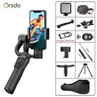 3 Axis Handheld Gimbal Stabilizer with Bluetooth Remote Support Universal Adjust