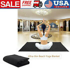 Ultra-thin Beach Yoga Blanket Highly water-absorbent Mat w/ Portable Bag K0Z8