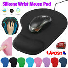 Game Mouse Pat Silicone Soft Mouse Pad With Wrist Rest Support Mat For Gaming Pc