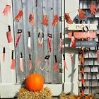 Feet Halloween Party Halloween Banner Bloody Garland Party Decorations Supplies