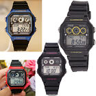 Casio Sports Mens Gents Digital Chronograph World Time Watch with Resin Strap