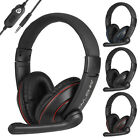 3.5mm Stereo Surround Sound Gaming Headset Headphone for PS4/Switch/Xbox One/PC
