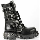 New Rock Boots @ Metallic Collection @ Stiefel Rock Punk @ Goth