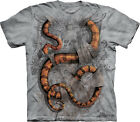 NEW BOA CONSTRICTOR Snake Grey Gray The Mountain T Shirt Adult Sizes