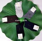 Men's Mulberry Silk Ankel Socks One Size Fit Most Lot Sale Sisters-silk