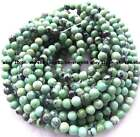 green grass Howlite turquoise round gemstone Beads 15''