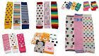 Baby Toddler Kids Boy Girl Winter Leg Warmers Tube Socks Stripes Cars Spots