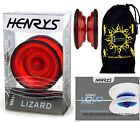 Henry's Lizard YoYo - Pro String Trick Yo Yo's + FREE BOOK of Tricks+ Travel Bag